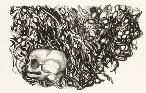 litografía de Jaquie Allwood