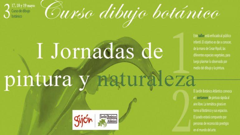 I Jornadas de Pintura y Naturaleza en Gijón