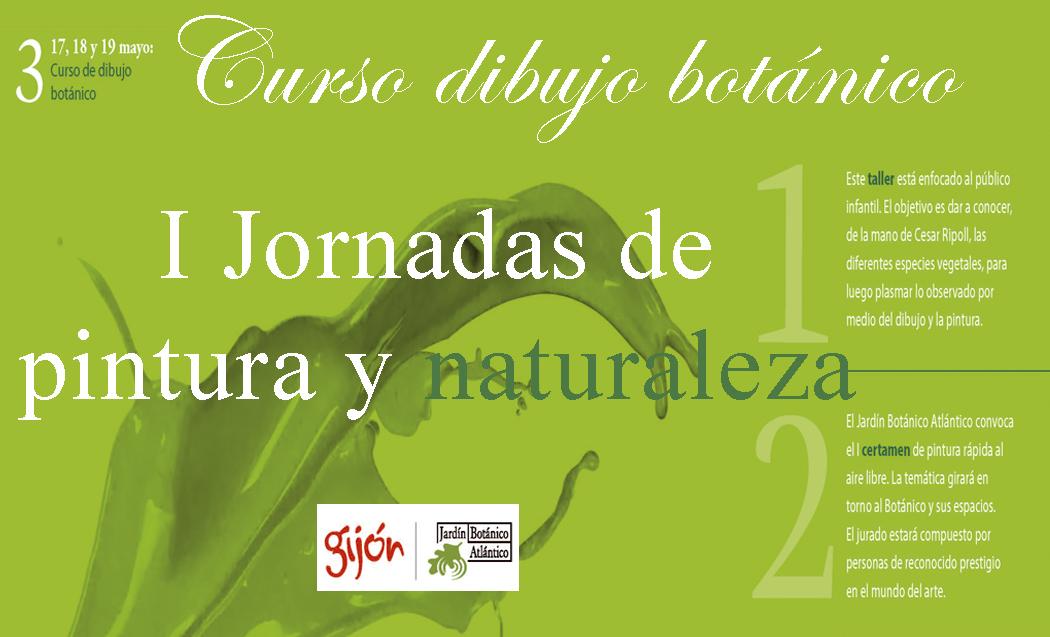 I Jornada de pintura y naturaleza en el Jradín Botánico Atlántico de Gijón
