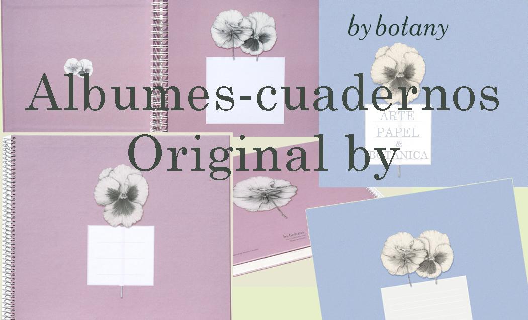 Albumes-cuaderno Rosa y Azul para personalizar