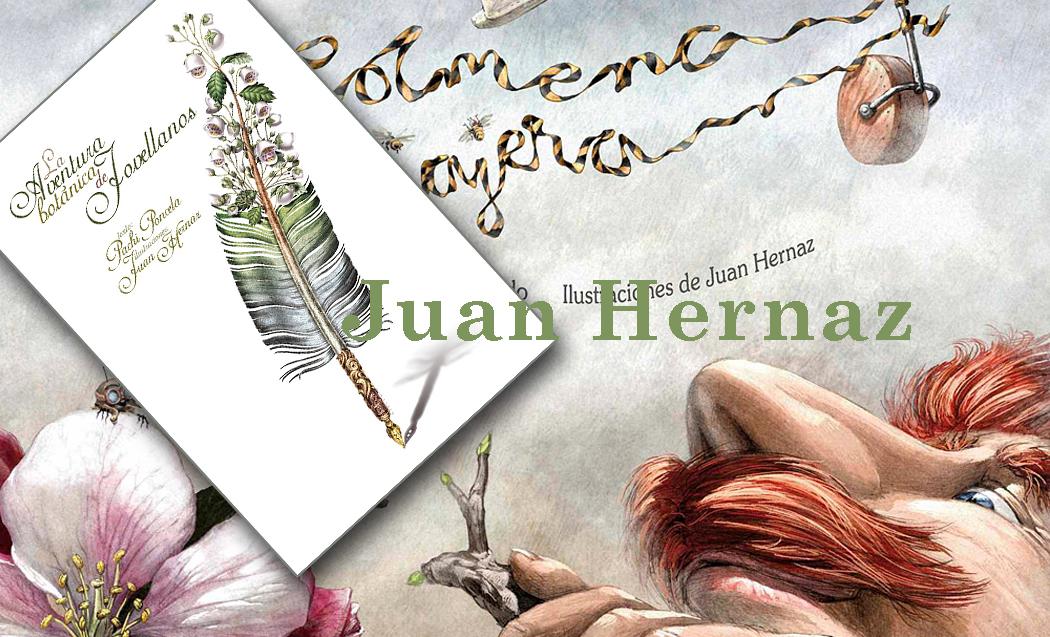 Juan Hernaz, ilustrador