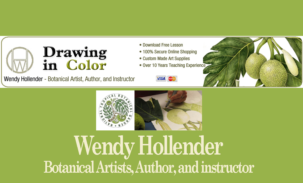Wendy Hollender, Botanical artists