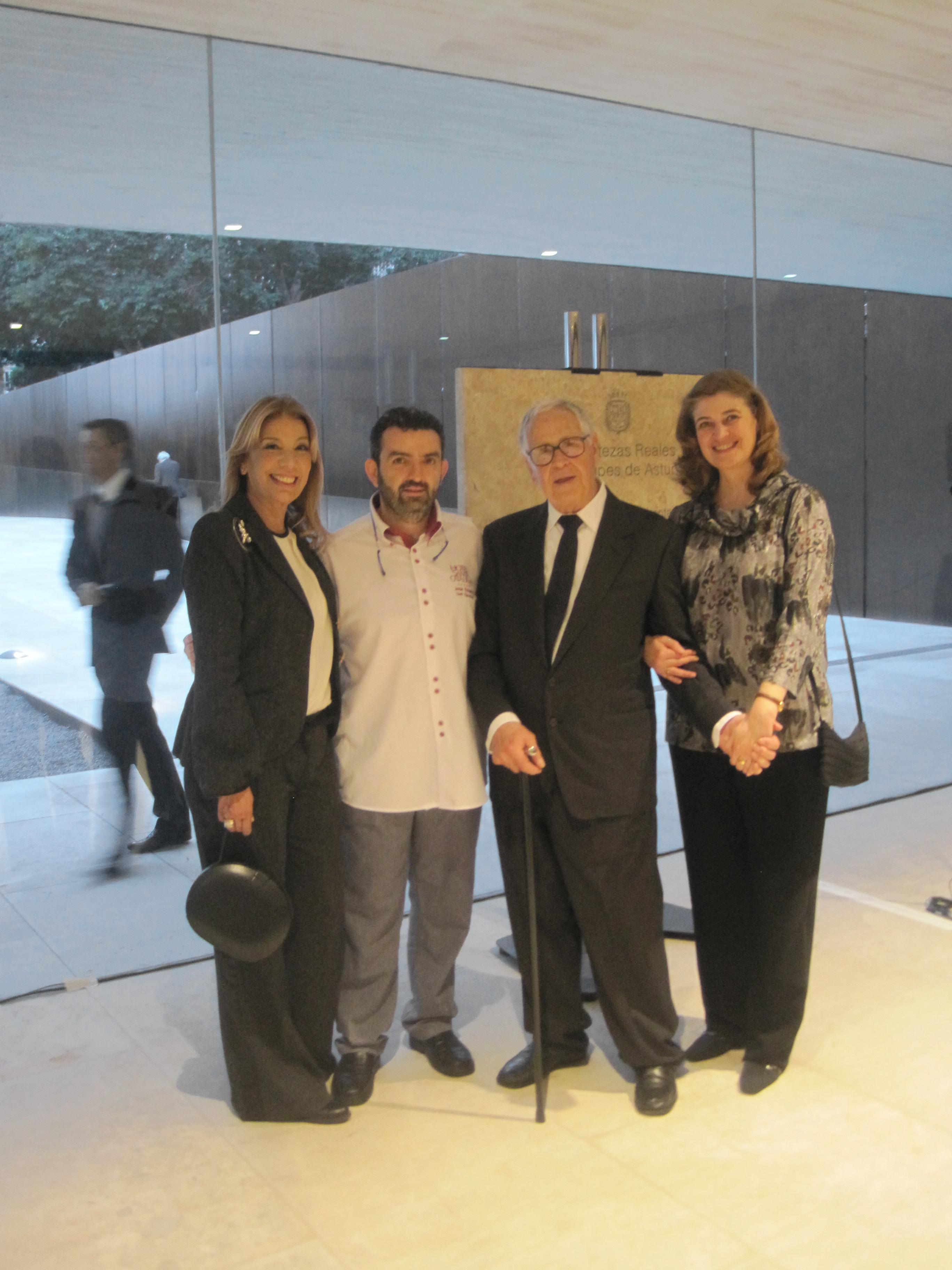 Rosi Curbelo, José Rojano, Martín y Marta Chirino