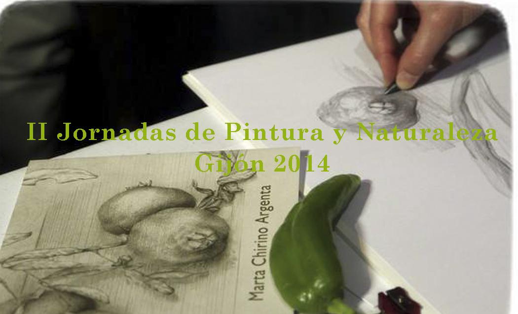 II-Jornadas de Pintura y Naturaleza,Gijón 2014