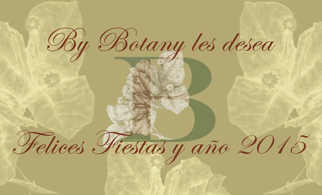 By Botany les desea Felices Fiestas y Año 2015