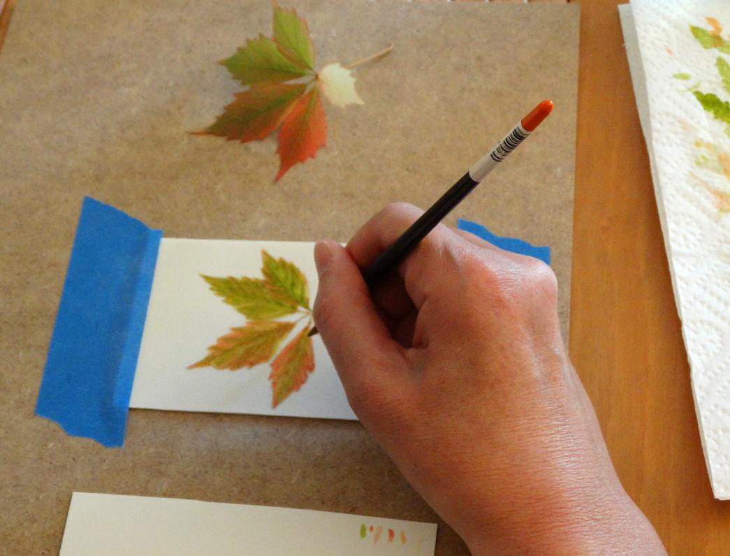Técnica seca sobre pergamino