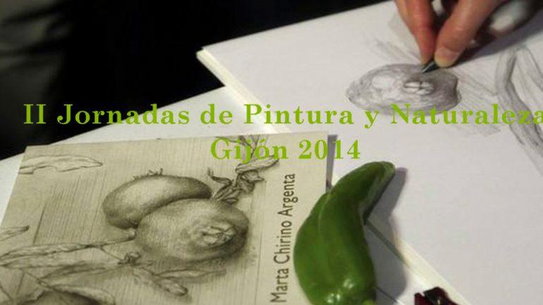 II Jornadas de Pintura y Naturaleza, Gijón 2014