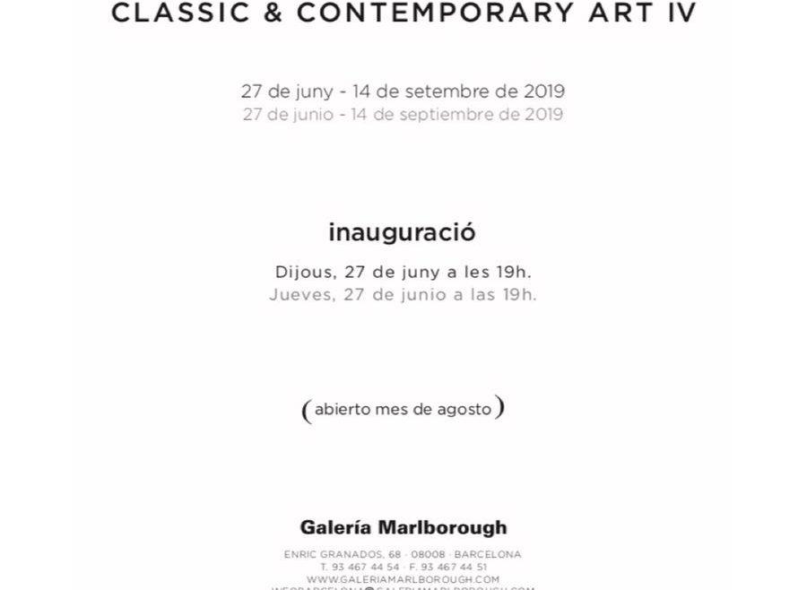 Exposición colectiva en Galería Marlborough Barcelona